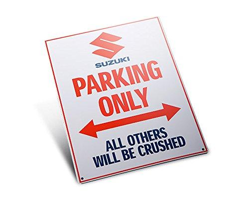 Suzuki Parkplatzschild