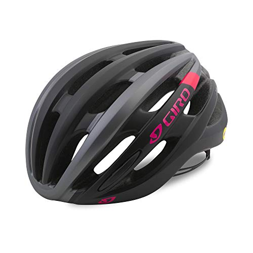 Giro Saga MIPS Helmet - Women's Matte Black/Pink Race, M