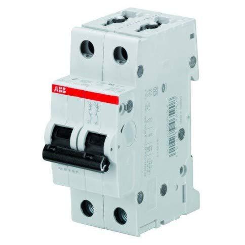 Abb Interruttore Magnetotermico 2 Moduli 1P+N 4,5KA 10A Curva C S598378