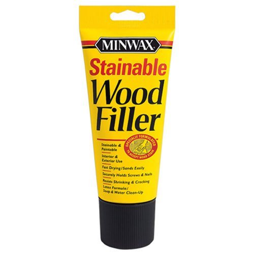 Minwax 42852000 Stainable Wood Filler, 6-Ounce