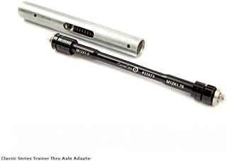 CycleOps Trainer Thru Axle Adapter, For 148X12mm & 142X12mm, Includes Shorter Slider Tube