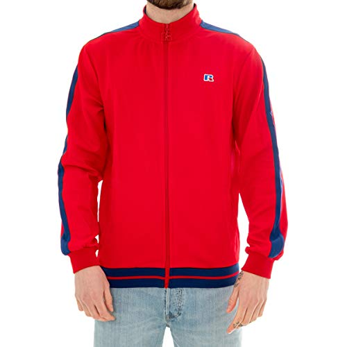 Russell Athletic Felpa Uomo Track Jacket E9.641.1.426.T4 (M - 426.T4)