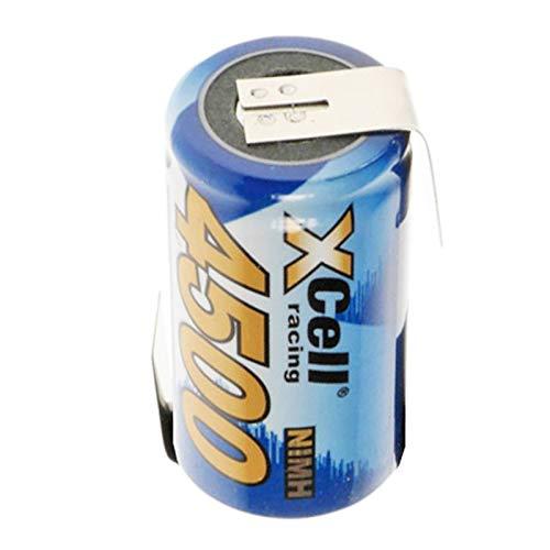 XCell 4500 mAh Sub-C Ni-MH Batería con soldadura Z-form