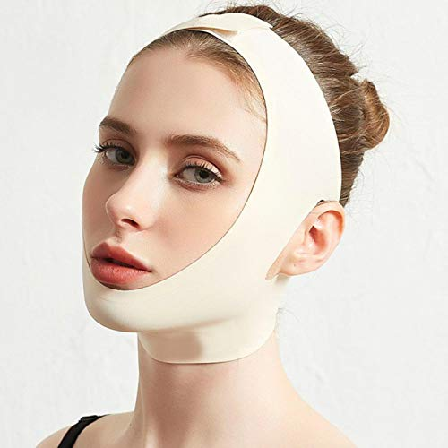 Facial Beauty Tool V Gesicht Facial Slimming Bandage Entspannung Lift Up Belt Shape Lift Reduzieren Sie Double Chin Face Thining Band Massage Skincolorxl