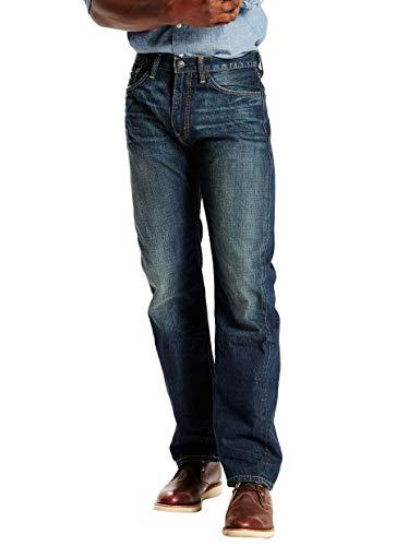 Levi's Herren 505 Regular Fit Jeans - Blau - 40W / 32L