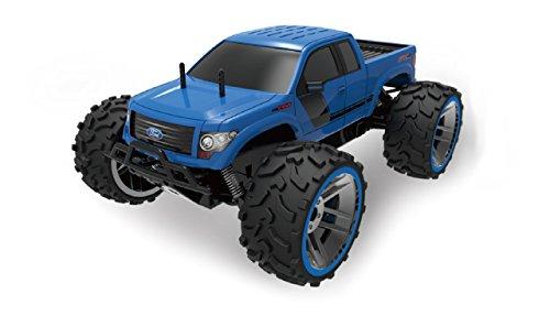 Amewi 22287 Ford F150 1:8 Blue, RTR, licentievoertuig