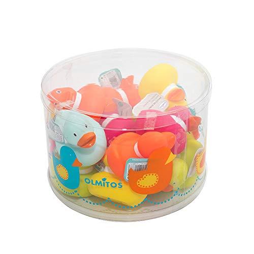 Olmitos - Juguetes De Baño Expositor 16 Patos Surtidos