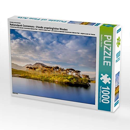 CALVENDO Puzzle Nationalpark Connemara - Irlands ursprünglicher Westen 1000 Teile Lege-Größe 64 x 48 cm Foto-Puzzle Bild von Matthias Klenke