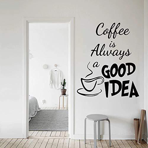 Cafetería silla taza de café cocina cafetería dulces sueños tatuajes de pared luna y estrellas dormitorio guardería
