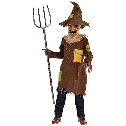 Scary Scarecrow Boys Fancy Dress Halloween Märchen Horror Kinder Kinder Kostüm (8-10 Jahre)