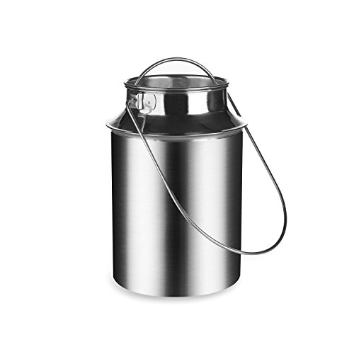 kaese-selber.de Milchkanne 1,5 Liter (Edelstahl)