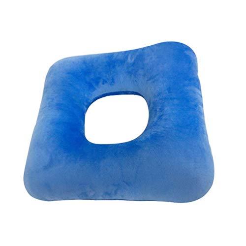 JJDD'G Anti-Dekubitus Kissen, verhindern Wundliegen und Dekubitus, ideal für langes Sitzen,Blau