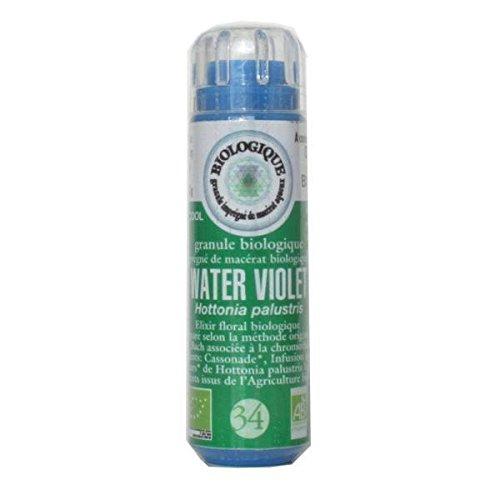KOSMEO B Bachblüte Nr. 34 Wasserviolett Granulat ohne Alkohol verstärkt durch Farbtherapie