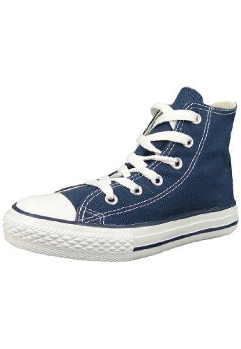 Converse Youths Chuck Taylor All Star Hi Zapatillas de tela, Unisex - Infantil, Azul (Azul Marino), 27