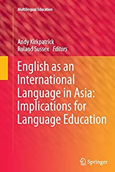 Paperback English as an International Language in Asia: Implications for Language Education Book