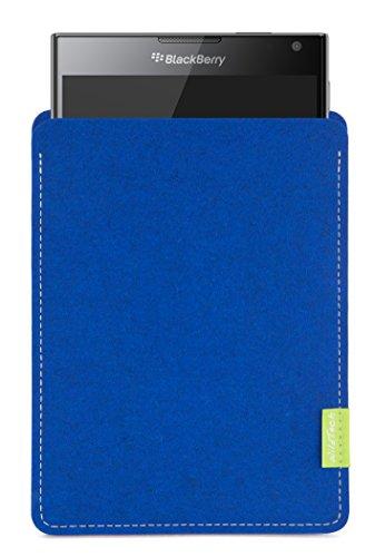 WildTech Sleeve für BlackBerry Passport Hülle Tasche - 17 Farben (Handmade in Germany) - Azure