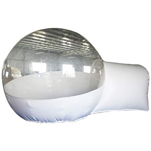 SAYOK - Tienda de campaña hinchable para exteriores, con forma de cúpula, transparente, 3 x 2,5 m