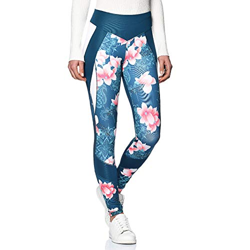 Desigual Damen Bloques Hindi Leggings M violett