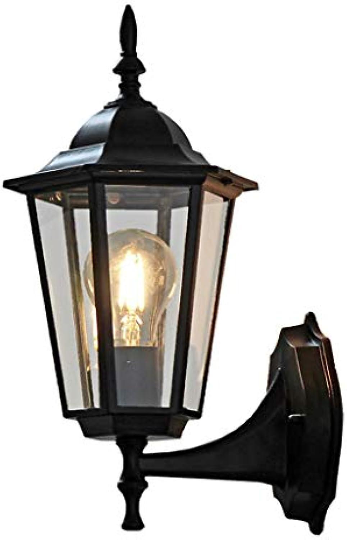 Garten-Wohnzimmer-Wandlampe der Gartenlampe der Wandlampe wasserdichte Beleuchtung Retro-