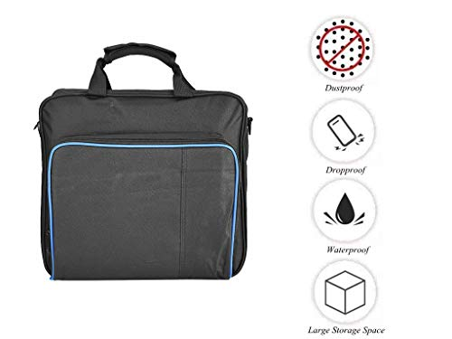 fosa PS4 Pro Carrying Case Bag, Waterproof Shockproof Game System Protective Travel Case for...