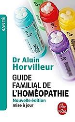 livre Guide familial de l'homéopathie