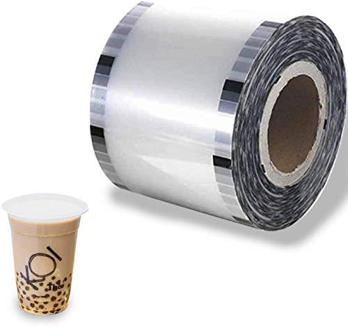 JIAWANSHUN 3000個 カップシーラーフィルム 95 mm (3.74インチ) ティーカップシーリングフィルム PPカップ用