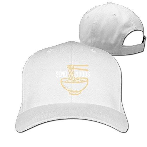 Senden Sie Nudeln Ramen Nudeln Solid Travel Cap Baseball Cap Sporthüte für Männer und Frauen