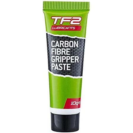 Tf2lubricantes Unisex Pasta de Agarre de Fibra de Carbono para Bicicletas, Verde, 10g