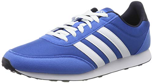 adidas V Racer 2.0, Zapatillas de Running Hombre, Azul (True Blue/FTWR White/Legend Ink True Blue/FTWR White/Legend Ink), 39 EU