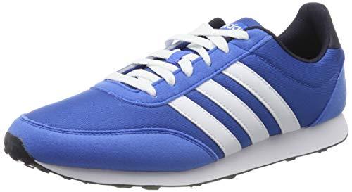 adidas V Racer 2.0, Zapatillas de Running Hombre, Azul (True Blue/FTWR White/Legend Ink True Blue/FTWR White/Legend Ink), 39 EU