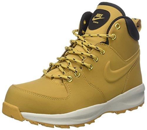 Nike Jungen Manoa LTH Gs AJ1280-700 Trekking-& Wanderstiefel, Mehrfarbig (Haystack/Haystack/Velvet Brown 700), 37.5 EU