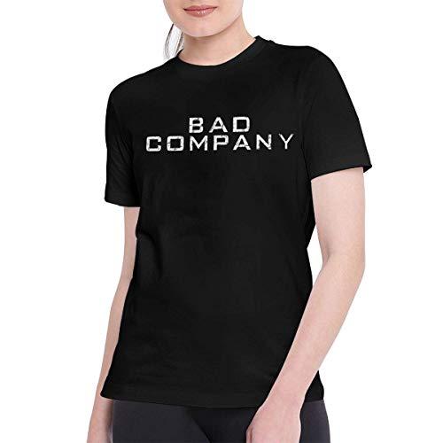 Sportswear Heren T-shirt met korte mouwen, T Shirts voor Vrouwen Klassiek Slecht Bedrijf Tee Zwart