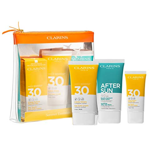 Clarins Summer Set (Sun Care Cream,75ml+Soothing After Sun Balm,75ml+Dry Touch Sun Care Cream,30ml), 180 ml