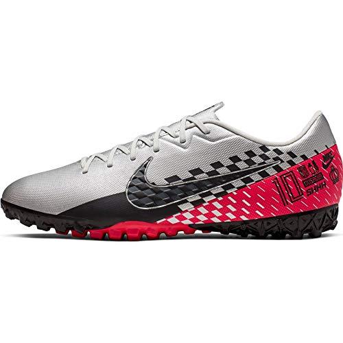 Nike Vapor 13 Academy NJR TF, Zapatillas de fútbol para Hombre, Cromo/Negro-Rojo...