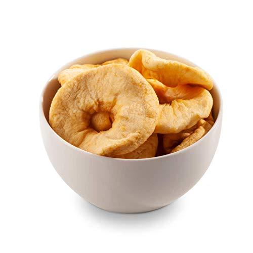 Sultan's Palace Getrocknete Apfelringe – Beste Premium Qualität – Getrocknete Apfelscheiben ohne Zucker – Trockenobst Äpfel als Vegane Frucht Snacks – Dried Apples (Glutenfrei, Laktosefrei) (1000gr)