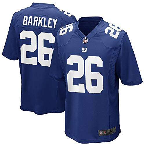 Youth #26 Saquon Barkley New York Giants Game Jersey – Royal S