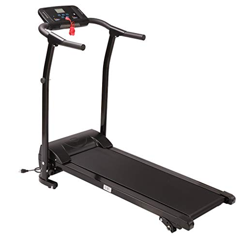For Sale! Samury Folding Treadmill Mute Electric Motorized Running Machine with Device Holder - 12 P...