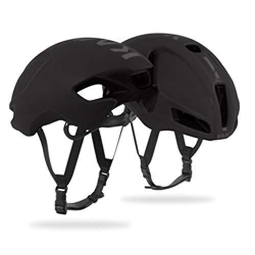 Kask Utopia - Casco de Bicicleta para Adulto, Unisex, Negro Mate, Mediano