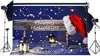 HD 7X5FT / 210X150cm薄ビニール写真撮影の背景ボケハロススパークルスパンコール落下スノーフレーククリスマステーマ子供Adutlsメリークリスマスポートレート背景写真スタジオ小道具PD116