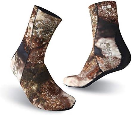 Omer 2.5mm Phoenix Mall Holostone CAMO Socks Purchase Neoprene for Spearfishing