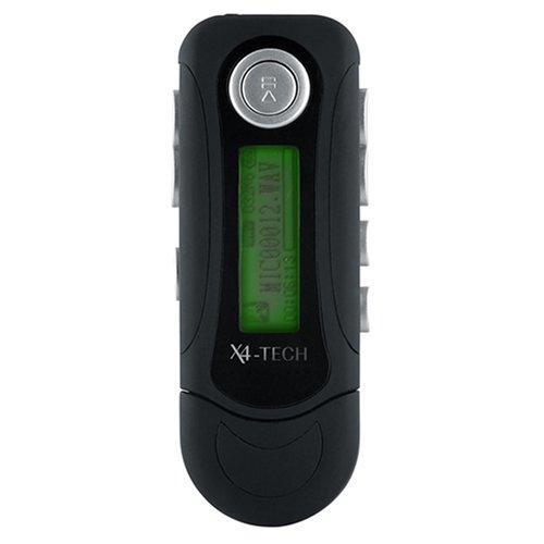 X4-Tech BogieMan IV Tragbarer MP3-Player 2 GB