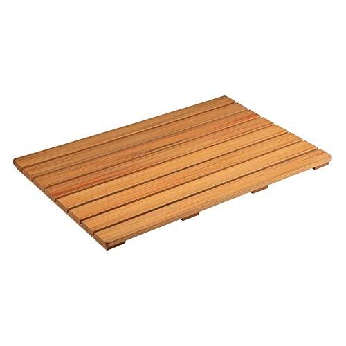 JJSFJH Bambus Badematte - Griffige Dusche Bodenmatte, Durable Umweltschutz Badezimmer (Size : 53x83cm)