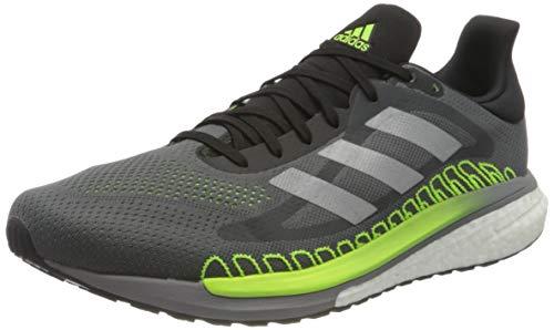 adidas Solar Glide St 3, Zapatillas de Atletismo Hombre, Grefiv/Silvmt/Siggnr, 45 1/3 EU