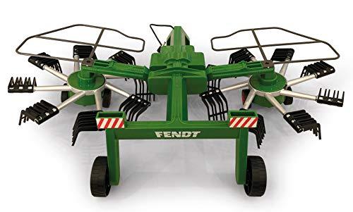 Jamara 412589 - Fendt Former voor RC Fendt Tractor 405035 - roterende tanden tijdens het rijden, op afstand bedienbare opklapbare armen, trekhaak voor