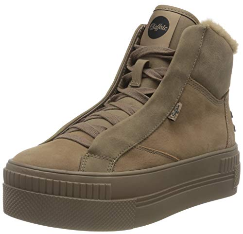 Buffalo Damen PAIRED PH Sneaker, Taupe, 39 EU