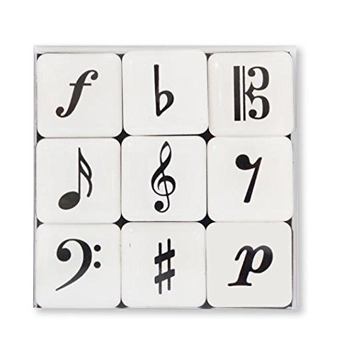 Minimagnet box Music symbols - GIFT