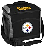 Rawlings NFL Soft-Sided Insulated Cooler Bag, 24-Can Capacity, Pittsburgh Steelers