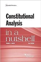 Constitutional Analysis in a Nutshell (Nutshells)