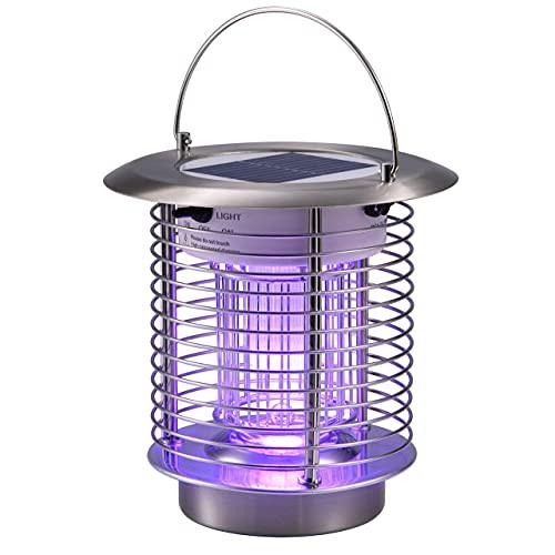 best solar bug zapper