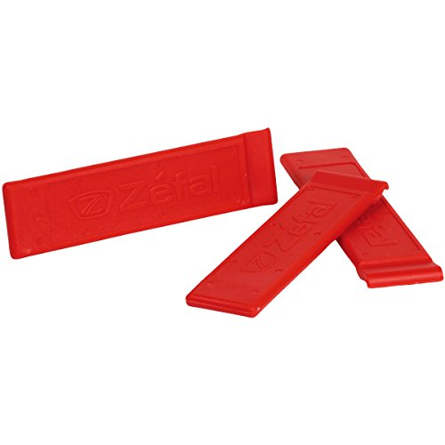ZEFAL Z-Tyre Blíster 3 Desmontables, Unisex, Rojo, Size 3